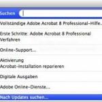 Nach Update auf Mac OS X 10.5 werden aus Acrobat 8 keine PDF-Dateien mehr geschrieben.