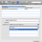 Adobe PDF-Drucker neu anlegen