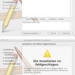 Aus QuarkXPress 7 können über den PDF-Drucker keine PDFs geschrieben werden.