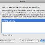 iPhoto Library auf eine andere Festplatte verlagern
