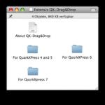 Drag & Drop für QuarkXPress 6 und 7