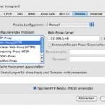 Der Webbrowser kann nicht auf das Internet zugreifen – Emails können aber empfangen und gesendet werden !
