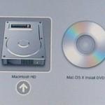 Den Mac von CD / DVD oder einem anderen Volume starten