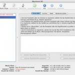 Im Festplatten-Dienstprogramm wird ein Volume rot dargestellt, S.M.A.R.T.-Status: fehlgeschlagen