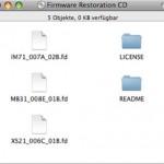 Nach einem fehlgeschlagenen Firmware-Update startet der Mac nicht mehr – wie läßt sich die Firmware wiederherstellen ?