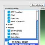 Bildschirmschoner installieren oder entfernen