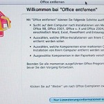 Microsoft Office 2004/2008 Product Key ohne Neuinstallation ändern
