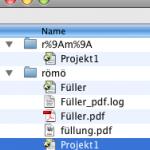 """QuarkXPress 7 erzeugt beim Schreiben eines PDFs einen """"Phantom-Ordner""""."""
