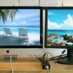 """Quato Radon 21"""" vs. Apple iMac 27"""":<br>Die (traurige) Wahrheit über Bildschirmgrößen"""