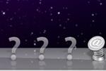 Im Mac OS X Dock werden Fragezeichen angezeigt.