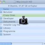 Bildschirmfotos am Mac erstellen