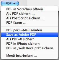 Adobe Pdf Drucker Mac