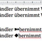 Fehlerhafte Zeichen beim Kopieren von Text aus PDF-Dateien