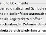 Adobe Creative Suite: Jedes Dokument in einem eigenen Fenster öffnen