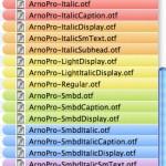 Kann man in Mac OS X die Farben der Etiketten ändern ?