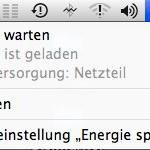 "Was bedeutet die Meldung ""Batterie warten"" bei mobilen Macs ?"