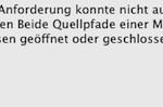 """Freehand MX Fehlermeldung: """"Beide Quellpfade einer Mischung müssen geöffnet oder geschlossen sein."""""""