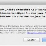 Funktioniert die Adobe Creative Suite 3 mit Mac OS X 10.7 ?