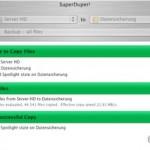 Festplattenabgleich am Mac OS X Server: SuperDuper! als Backup-Lösung