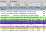Etiketten und farbige Markierungen in Apple Mail