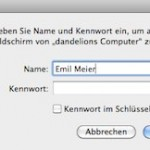 """Fehlermeldung beim Verbinden per Bildschirmfreigabe: """"Die Anmeldung ist fehlgeschlagen."""""""