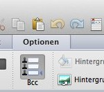 Wo ist das BCC-Adressfeld in Outlook 2011 ?