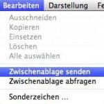 Mac OS X Bildschirmfreigabe: Kopieren und Einsetzen zwischen zwei verschiedenen Rechnern