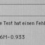 Fehlermeldung beim Mac Pro-Hardwaretest: 4SNS/1/40000001:Ip6M