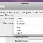Der Ethernet-Anschluß eines weißen Mac mini funktioniert nicht, der Dienst wird in den Netzwerkeinstellungen nicht angezeigt