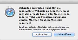 Safari_Webseiten_antworten_nicht