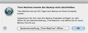 TimeMachine_Warnung