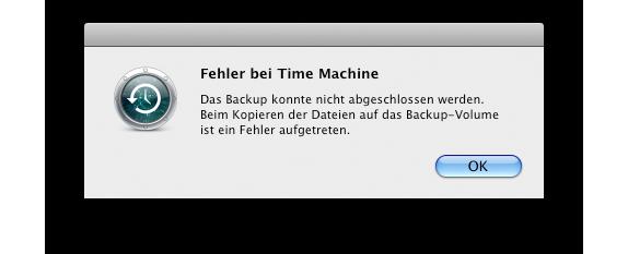 TimeMachine_Fehler