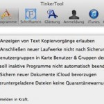Programme in Mac OS X beenden sich von selbst