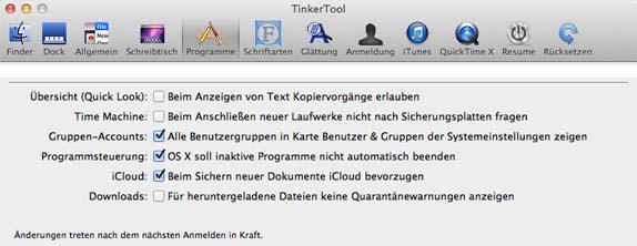 TinkerTool_Programmsteuerung