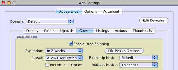 Rumpus_Web_Settings