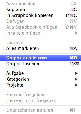 Entourage_Gruppe_duplizieren
