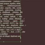 In Illustrator CS6 läuft der Text über den Rahmen hinaus