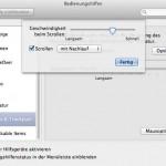 Beim MacBook Pro funktioniert das Scrollen mit zwei Fingern auf dem Trackpad nicht