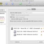 Software-RAIDs mit Mac OS X erstellen