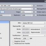 QuarkXPress 10 druckt auf Xerox-Druckern verkleinert aus