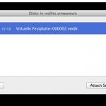 Zugriff auf virtuelle Festplatten: VMWare VMDK Images im Finder aktivieren
