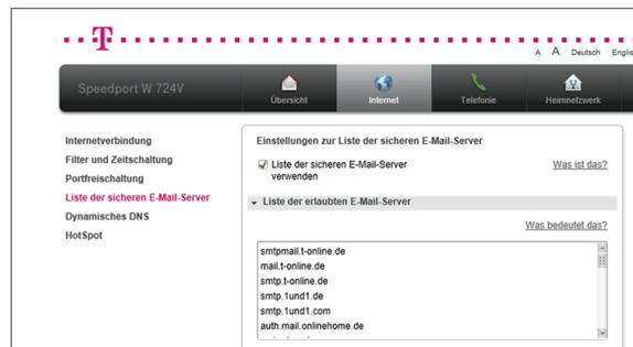 SpeedportW724V_Sichere_Emailserver