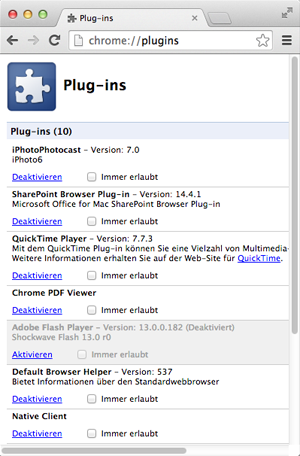 Chrome_Plugins
