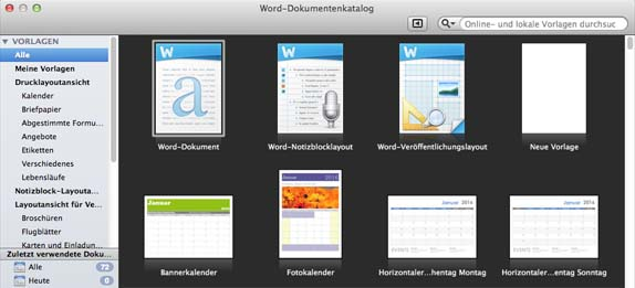 Word_Dokumentenkatalog