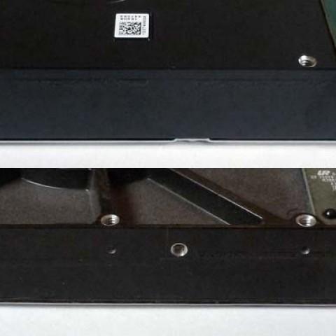 Vorsicht bei großen Festplatten: neue Gewindeposition !