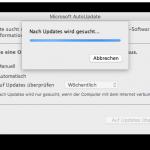 Office 2011 läßt sich nicht mehr automatisch aktualisieren